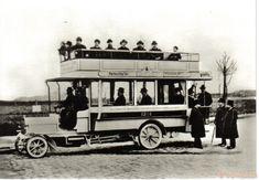 Erster Berliner Kraftomnibus der ABOAG 1905