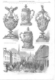 Goodwoog Horse Races 1858 C