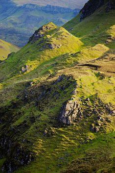 Quiraing mountain range - Isle of Skye, Scotland
