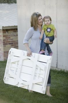 Childrens Foldable Picnic Table in White Kidnic http://www.amazon.com/dp/B005419QX2/ref=cm_sw_r_pi_dp_XYzZtb13X8FHTJXD