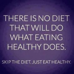 Healthy eating beats all diets