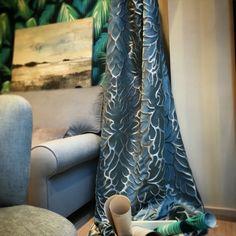 Moltrasio de Wind Exclusive Design: Jacquard de seda y lino, con un toque de lurex. | Jacquard de seda i lli, amb un toc de lurex. #ontario #fabrics