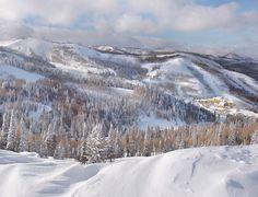Deer Valley, Utah.  Our annual ski destination.
