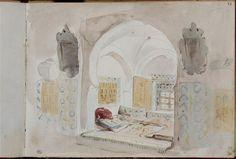 Album du voyage en Afrique du Nord Delacroix Eugène (1798-1863)