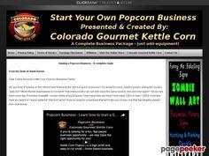 cool Popcorn Business - Make Gourmet Kettle Corn Popcorn