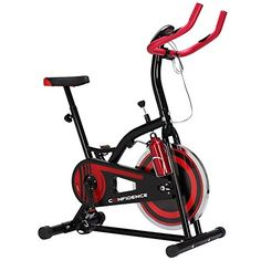 Confidence S1000 Indoor Cycling Exercise Bike W/ 10kg Flywheel