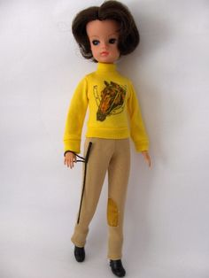Sindy, equestrian fashion plate of the '60s, '70s and '80s. #OMG #pony