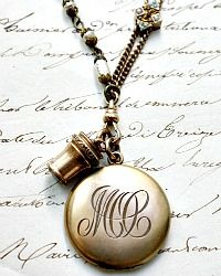 The art of combining two or more letters together into one beautiful symbol, or monogram, is centuries old. Discover one-of-a-kind antiques emblazoned with stunning monograms. Locket Necklace, Pendant Necklace, Beautiful Symbols, Monograms, French Antiques, Antique Gold, Fine Jewelry, Fashion Jewelry, Lockets