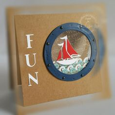 Porthole, yacht, sail boat, sea - Lisa Horton