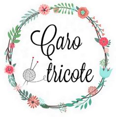 Logo Caro Tricote Art Du Fil, Blog Images, Decorative Plates, Diy, Watercolor, Couture, Logos, Crochet, Studio