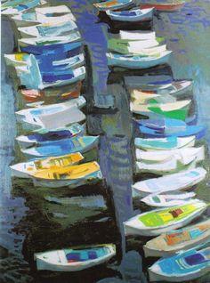 Παναγιώτης Τέτσης, Ϋδρα Original Paintings For Sale, Art Paintings For Sale, Greek Paintings, Summer Drawings, Street Art, Canvas Art For Sale, Virtual Art, Classical Art, Western Art