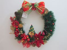 Guirlanda de Natal tradicional