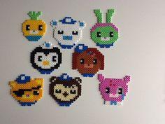 The Octonauts hama beads by Raydant