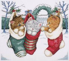 "Cozy Kittens Counted Cross Stitch Kit-12""X14"" 14 Count by Tobin, http://www.amazon.ca/dp/B008736OQQ/ref=cm_sw_r_pi_dp_b9a8sb16W4H27"