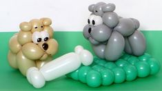 Бульдог из шарика / One balloon bulldog (Subtitles)