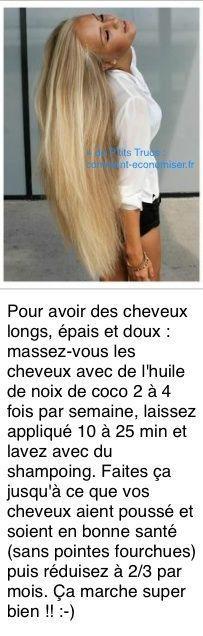 L'Astuce Qui Marche Pour Avoir des Cheveux Longs Rapidement.