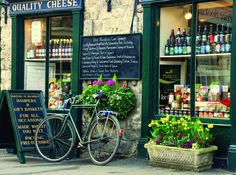 Helmsley is a lovely market town with quaint shops on the edge of the North York Moors - photograph courtesy of Richard Fox