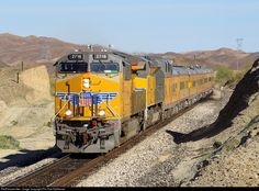 RailPictures.Net Photo: UP 2618 Union Pacific GE C45AH at Blaisdell, Arizona by Phx Sub Railfanner