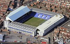 25e268ecaf Home of the mighty Everton FC. Goodison park - One of my favourite away  grounds
