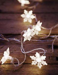 Snowflake lights....