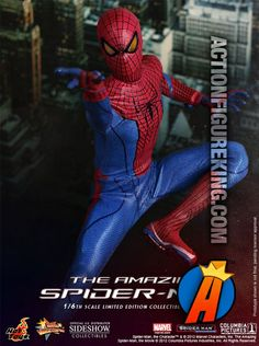 Thwipp!! It's the Amazing Spider-Man from Hot Toys.
