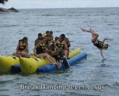 Jesus, the break-dancer