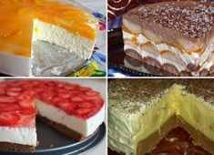 Czech Recipes, Ethnic Recipes, Polish Recipes, Graham Crackers, No Bake Desserts, Oreo Cheesecake, Deserts, Food And Drink, Cooking Recipes