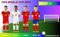 Group H - FIFA World Cup 2014 Groups