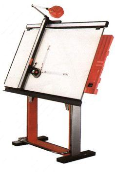 Drawing Furniture, Art Furniture, Furniture Design, Drafting Drawing, Drafting Desk, Drafting Tools, Industrial Drafting Tables, Architect Table, Diy Computer Desk