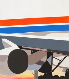 Available for sale from Ameringer   McEnery   Yohe, Brian Alfred, Cargo (2014), Acrylic on canvas, 78 × 68 in