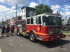 Philadelphia Fire Department Officially Welcomes New Engine 25  #Setcom #Rescue