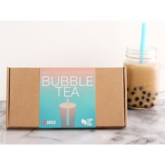 Make your own bubble tea with this kit, you can make four big servings of bubble tea, enough for you and a few friends to have your own bubble tea party! Free delivery - £13.99  #BubbleTea #Drinks #Gifts #Party