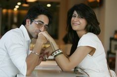Actor Ayushmann Khurrana with Wife Tahira Kashyap
