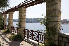 "Villa Kerylos, Villa Ephrussy de Rotschild   Greek word, ""Kerylos"" means Halcyon or kingfisher which in Greek ..."