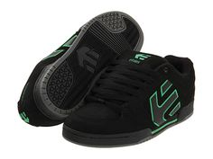 Bryce's favoritest shoes, Etnies Faders or Charters.