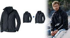 Tchibo webáruház. 3 az 1-ben férfi kabát minden időjárásra 8690d596ce