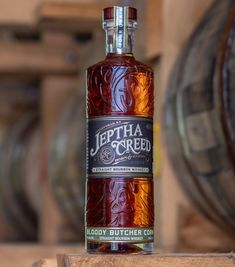 6 Years In Jeptha Creed Distillery's Mother-Daughter Duo Launch Kentucky Straight Bourbon [VIDEO] Good Whiskey, Cigars And Whiskey, Scotch Whiskey, Bourbon Whiskey, Whisky, Whiskey Bottle, Bourbon Bar, Bourbon Cocktails, Alcohol Bottles