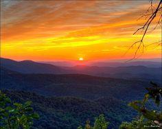 Blue Ridge Mountains Photography   Blue Ridge Mountains - Sunrise   Flickr - Photo Sharing! #TimeToSee