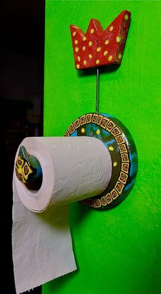 Let's not forget the toilet paper holder.