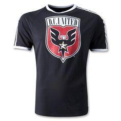 DC United Classic Trefoil T-Shirt  #DC United