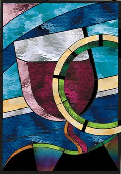 Brilliant  Charting Course  Stained Glass by stainedglassfusion