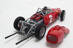 Ferrari 156 F1 'Sharknose' - Phil Hill's 1961 Championship Winning Car Model Car in 1:8 Scale by Amalgam