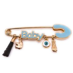 Excited to share this item from my shop: Blue Baby Brooch Pin Azabache Protection, Genuine Azabache Charm Pendant, Lucky Safety Pin Brooch, Eye Protection, Newborn Gift Baby Shower Eye Safety, Safety Pins, Newborn Gifts, Baby Gifts, Expecting Mom Gifts, Gold Accessories, Eye Protection, Baby Blue, Brooch Pin