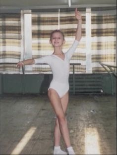 Little Svetlana Zakharova Ponting fingers up since a little girl :)