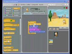 Tutorial de Scratch en español. Scratch es una programación muy sencilla, muy utilizada para enseñar lenguaje de programación a niños en las escuelas. Edad: a partir de 8 años.