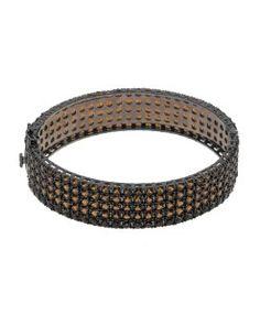 braceletes de zirconias da moda