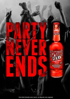 Campaign to know the new Desperados Red beer. Coffee Bottle, Beer Bottle, Rum Beer, Red Party, Cold Brew, Brewing, Campaign, Workshop, Behance