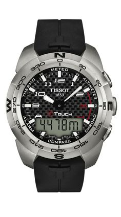 The T-Touch Expert watch is ideal for the outdoor adventurers. With sixteen  touch-activated functions 9f0a1a875a