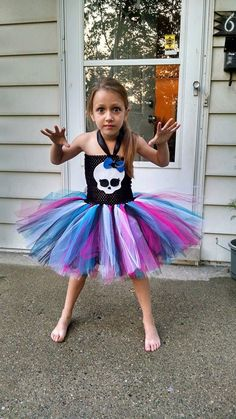Hey, I found this really awesome Etsy listing at https://www.etsy.com/listing/198917069/girls-baby-toddler-monster-high-tutu
