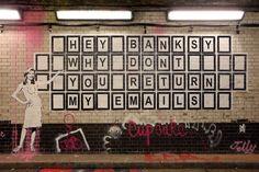 E-mail BANKSY